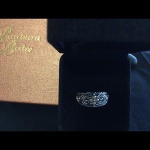 BARBARA BIXBY Jewelry - BARBARA BIXBY SS 18K YELLOW GOLD SCROLLFLOWER RING